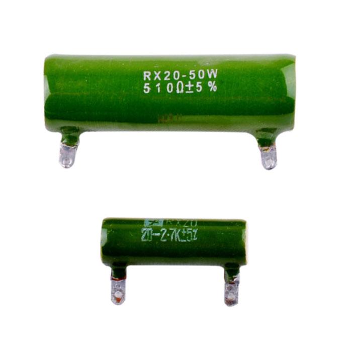 RX20被釉线绕电阻器