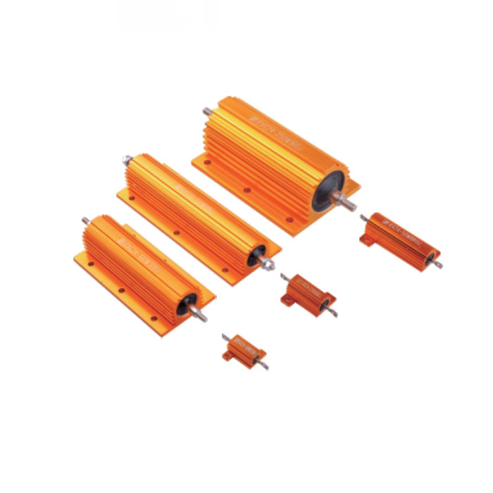 RX(G)24 黄金铝壳线绕电阻器